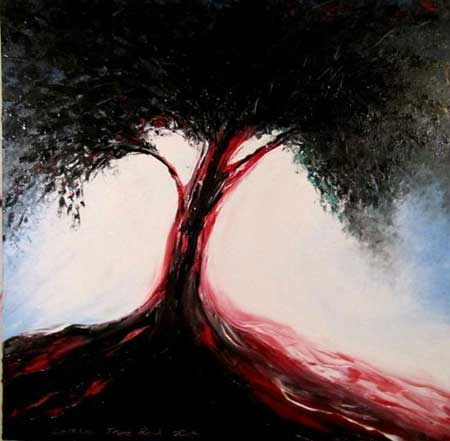 tree red