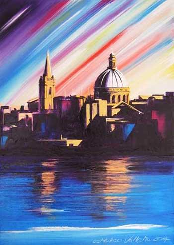 Valletta rainbow