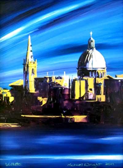 Valletta small blue