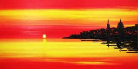 Valletta sun